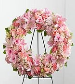 Pink Beauty Wreath