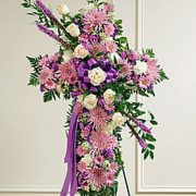 Lavender - Sympathy Cross