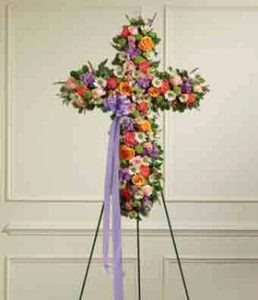 Rainbow Sympathy Cross