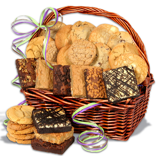 Baked Christmas Gifts: Baked Goods Cookies And Brownies Galore. Delivery In