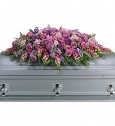 Lavender Full Casket