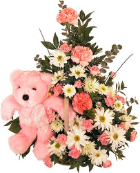 Baby Pink Maternity Flowers