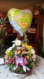 Balloon & Flowers