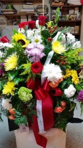 Cross Sympathy Basket