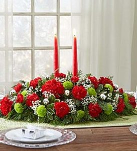 Red - Green Centerpiece